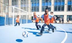 New Soccer Mini-Pitch. Credit: NYCFC.