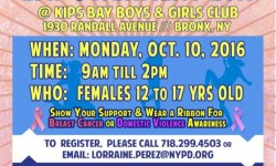NYPD Female Officers & BX Girls Empowerment Day – Today 9a.m. – 2p.m.