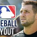 tim tebow MLB tryout