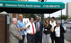 Sepulveda, Institute For Family Health Celebrate Renovation and Expansion of Stevenson Healthcare Clinic