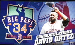 David Ortiz, Boston Red Sox Retires.