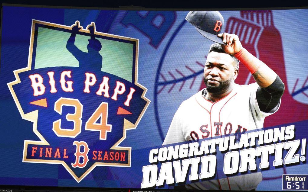 David Ortiz, Boston Red Sox Retires.