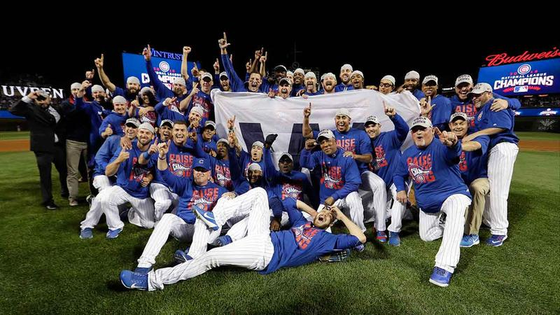 The Chicago Cubs made history Saturday night, clinching the National League Championship to pave the way to their first World Series since 1945.