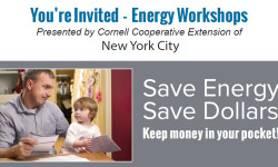 Energy Workshop on Affordable Home Energy Improvements – October 13th