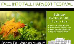 Fall into Fall Harvest Festival at Bartow Pell Mansion – Today