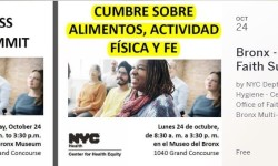 Bronx - Food Fitness & Faith Summit. NYC Department of Health and Mental Health