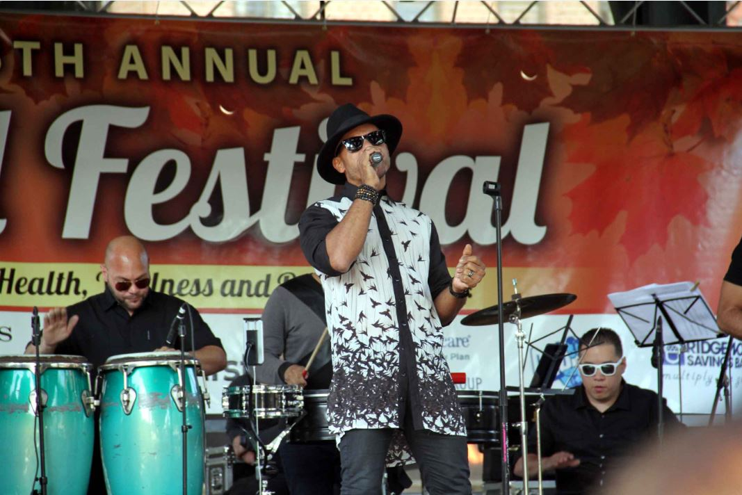 Several thousand enjoyed an afternoon of live music, food and activities for the entire family.--Photo by David Greene