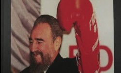 Writer Julio Pabón hosts Book Release Party Celebrates 21st Anniversary Of Fidel Castro's Visit To The South Bronx on October 23, 1995.