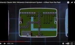 Nintendo Classic NES Flying off the Shelf  (NES Mini Screenshot)