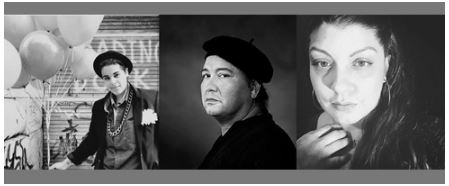 From Poe's Porch: Poetry Macabre with local poets Skye Cabrera, Carlos Manuel Rivera and Jani Rose