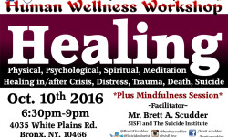 SISFI Hosts Bronx Males Emotional Wellness Support Group – October 10th