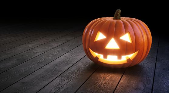 Halloween Jack O' lantern A01