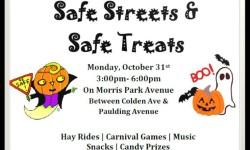 Safe Streets and Safe Treats – Halloween on Morris Park Avenue