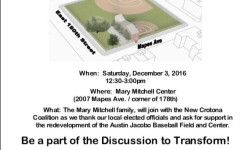 Crotona Coalition Community Meeting, 12/3