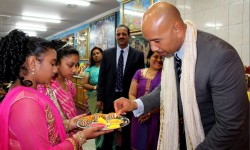 BP Diaz hosts Bronx Diwali celebration