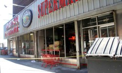Explosion Rocks, Damages Morton Williams Supermarket