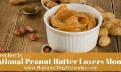 National Peanut Butter Lovers Month