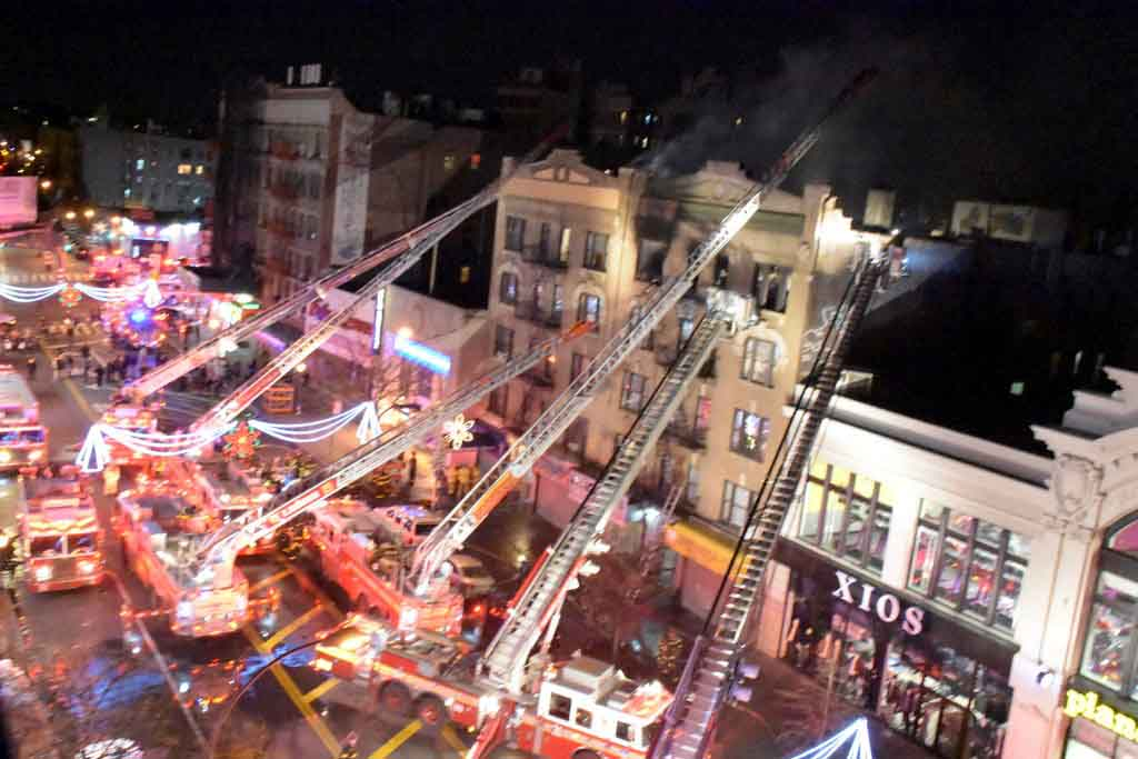 Senior Critical After 3 Alarm Fire In Foxhurst