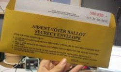 Absentee Ballot Applications Available