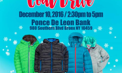 Southern Boulevard Bid Coat Drive – December 10th
