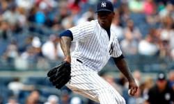 NY Yankees closer, Aroldis Chapman
