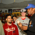 "Former Mets and Yankees star, Dwight ""doc"" Gooden talked about pitching at the TM Baseball Academy in the Bronx.  Photo credit: Gary Quintal"