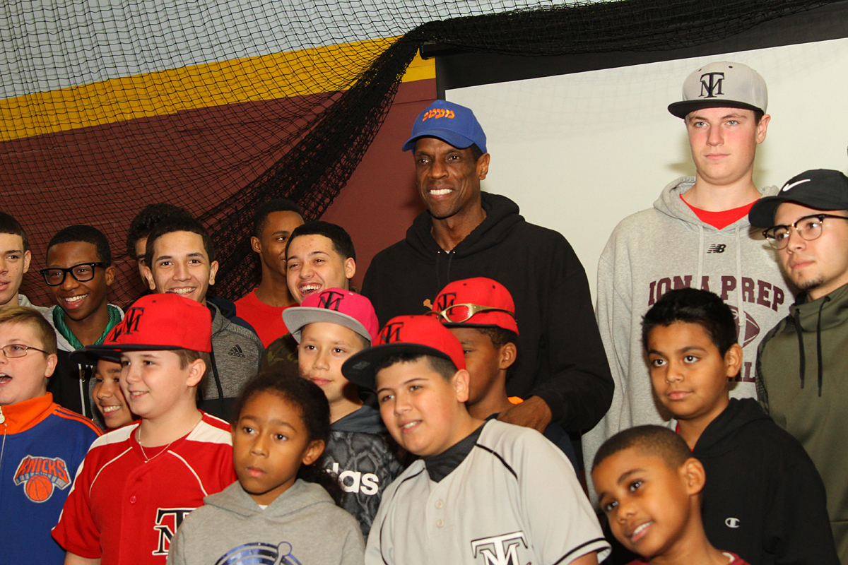 "Doc Gooden: ""It's always good to talk to youngsters about baseball and not making mistakes in life. I enjoy this and will do more. Baseball is a great game for youngsters and a learning experience."" Photo: Gary Quintal"