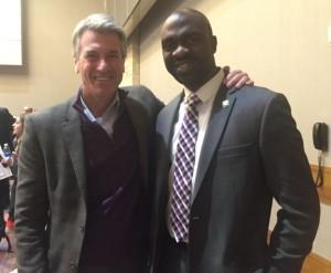 DNC Vice-Chair R.T. Rybak endorse AM Michael Blake to succeed him as DNC Vice-Chair.