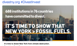 Actor Leonardo DiCaprio Calls on New York to Divest from Fossil Fuels