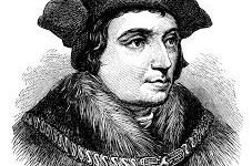 Sir Thomas More, venerated by Roman Catholics as Saint Thomas More, was an English lawyer, social philosopher, author, statesman and noted Renaissance humanist.