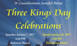 Senator Klein and Assemblyman Crespo Present Three Kings Day Celebration