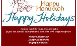 Best Wishes this Holiday Season on Behalf of Assemblyman Mark Gjonaj
