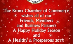 Happy Holidays from the Bronx Chamber of Commerce!