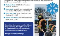 NYC Needs Emergency Snow Laborers