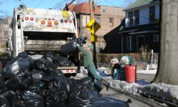 Extra Holiday Service/ No Garbage, Organics, Recycling Collection, nor Street Cleaning in Observance of Christmas Holiday, Monday, December 26