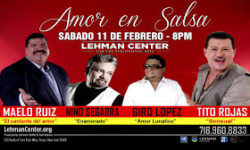 Celebrates Valentine's Day with AMOR en SALSA at Lehman Center, Feb. 11