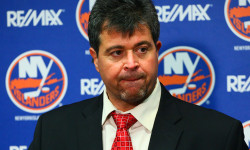 Former NY Islanders Coach Jack Capuano. Photo credit: Brandon Titus/Islanders Today