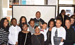 MLK Open House with Council Member Andy King, NYPD, and Youth