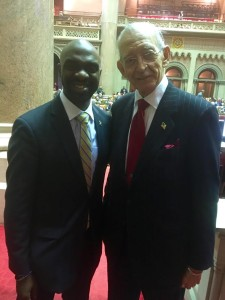"Assemblyman Herman ""Denny"" Farrell Jr. Endorsed Fellow Assemblyman Michael Blake for DNC Vice-Chair."
