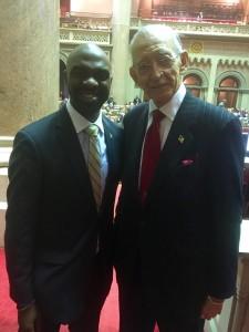 "Assemblyman Herman ""Denny"" Farrell Jr. Endorsed Fellow Assemblyman Michael Blake for DNC Vice-Chair."