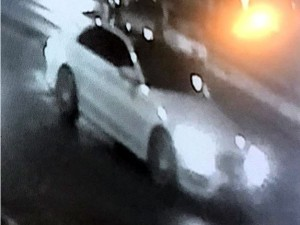 The police are looking to identify the driver of this vehicle captured by surveillance photo along East Tremont Avenue at the beginning of the shooting spree.--Photo courtesy of the NYPD