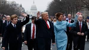 Trump Inaugural Parade 2017