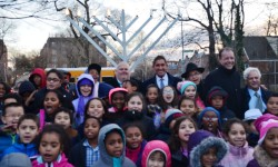 SENATOR JEFF KLEIN, ASSEMBLYMAN MARK GJONAJ AND LOCAL FAITH LEADERS HOST 22nd ANNUAL CHANUKAH INTERGENERATIONAL CELEBRATION