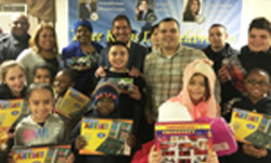 SENATOR JEFF KLEIN HOSTS A THREE KINGS CELEBRATION AT SACK WERN HOUSES, CLASON POINT GARDENS AND AT HOLY CROSS SCHOOL