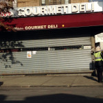 The Gourmet Deli on East 204 Street and Webster Avenue closed for eight-hours on Thursday.--Photo by David Greene