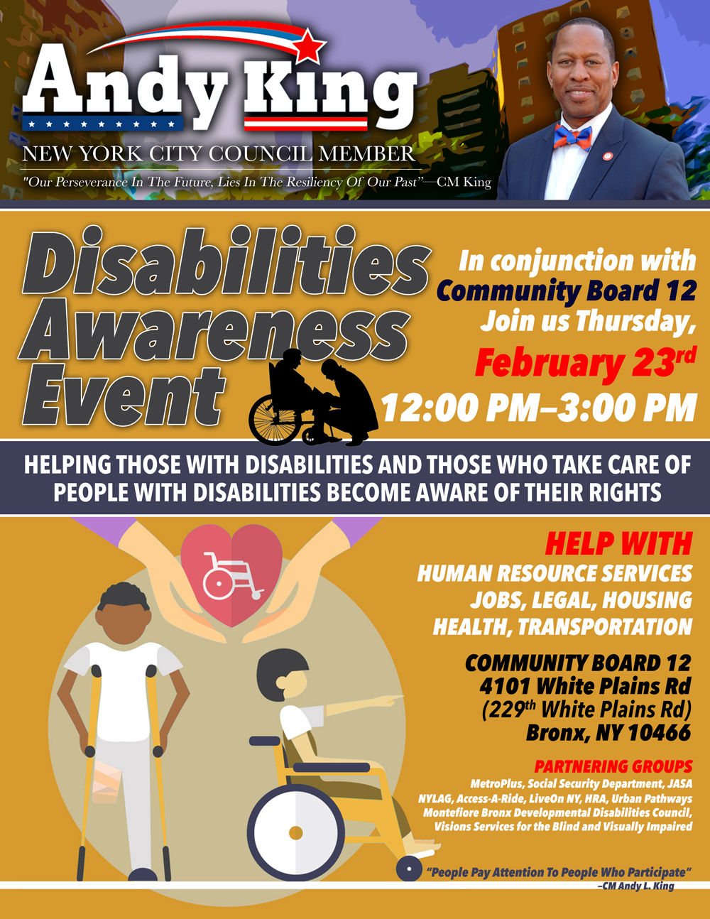 Disablilties Awareness Event