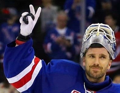 Henrik Lundqvist_NY Rangers_400 Wins