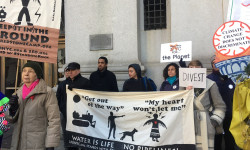 New Yorkers urge De Blasio & Stringer to #DeFundDAPL, divest from risky fossil fuels