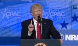 CPAC attendees say they are fired up by President Trump's speech. Photo: Talk Media News
