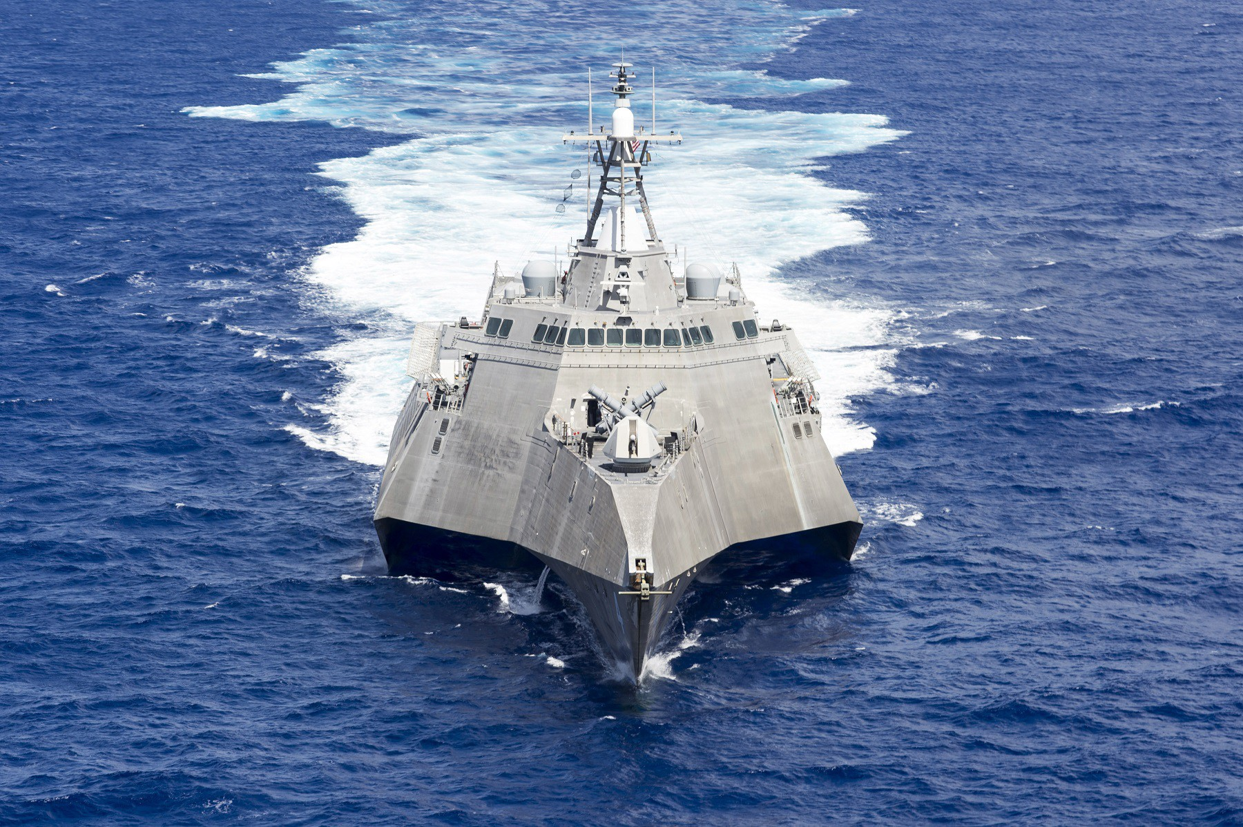 The 'Independence'-class Littoral Combat Ship USS 'Coronado' in October 2016. U.S. Navy photo